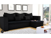 Corner sofa bed, varius colours, fast and free delivery