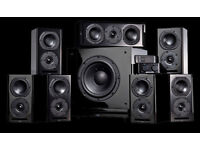 roger sound labs 7.2 speaker package