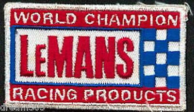 Vintage LeMans Patch Race Car  Steve Mcqueen / Motorcycle  #2 Racing