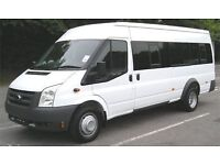17 Seater minibuses with driver available for ALL OCCASIONS