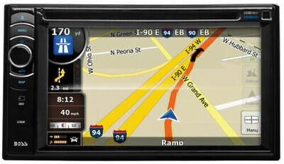 "BOSS BV9386NV 6.2"" TouchScreen 2 Din Car In Dash DVD Player Receiver+GPS NAVI"