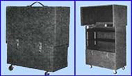 SMALL ROLL ON SUITCASE TABLE FOR MAGIC SHOWS