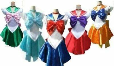 Sailor Moon style Sailor Warrior costume 5 sets Costume Women's size M](Sailor Moon Costumes)
