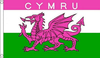 rose cymru 5 x 3 drapeau pays de galles dragon