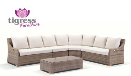 Luxo Coogee 4 Piece PE Wicker Outdoor Furniture Set   Black ... Part 35