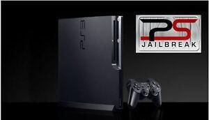 PS3 SLIM 160 GIG MODIFIÉ JAILBREAK CFW 4.80 DEX GTA 5 MOD MENU
