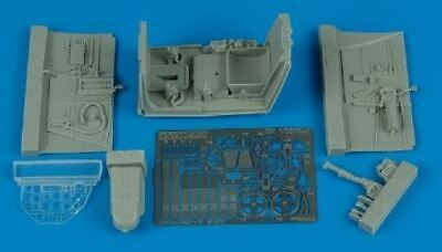 AIRES HOBBY 1/32 BF109K COCKPIT SET FOR HSG D 2044