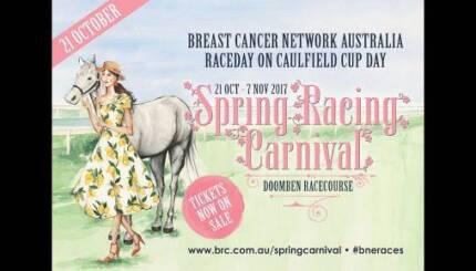 2 tickets to Caufield Cup Raceday - Doomben 21st Oct RRP $40