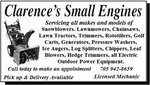 Lawnmower / Snowblower Repairs and Tune up's