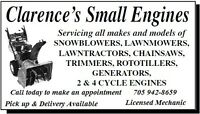 Snowblower Tune-ups and Service