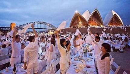 Diner en blanc Sydney on 25 Nov 2017, 2 tickets
