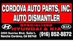 Cordova Auto Parts