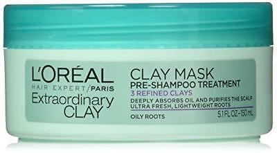 L'Oreal Paris Hair Expert Extraordinary Clay Pre-Shampoo Mas
