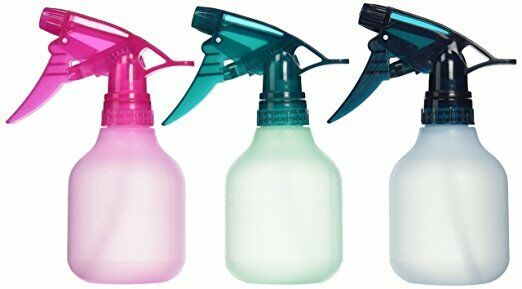 Tolco Empty Spray 8 oz Bottle, Frosted Assorted Colors