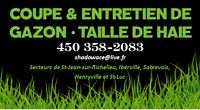 ******** TAILLE HAIE & COUPE GAZON  ********