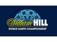 3 x World Darts Championship Tickets - 15th December