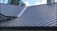profesional roof installation , steel and shingles