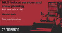 Mld bobcat services and snow plowing salmon arm