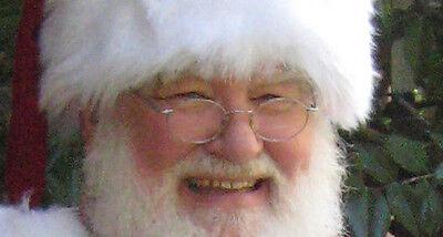 Men Costume Eye Glasses Gold Wire Rims Clear Lens Nose Pads Santa Potter Lennon