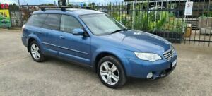 2008 Subaru Outback MY08 2.5I Luxury Edition Blue 4 Speed Auto Elec Sportshift Wagon North Geelong Geelong City Preview