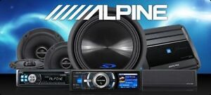 Car Audio Installation Sub, amp, double din and more
