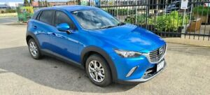 2018 Mazda CX-3 DK MY19 Maxx Sport (FWD) Blue 6 Speed Automatic Wagon North Geelong Geelong City Preview