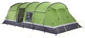 Kalahari elite 8 (in green) tent &, footprint