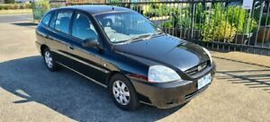 2004 Kia Rio BC Black 4 Speed Automatic Hatchback North Geelong Geelong City Preview