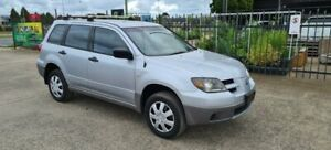 2003 Mitsubishi Outlander ZE LS Silver 4 Speed Auto Sports Mode Wagon North Geelong Geelong City Preview