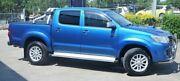 2012 Toyota Hilux KUN26R MY12 4X4 SR5 Blue 5 Speed Dual CabUtility Eagle Farm Brisbane North East Preview