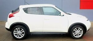 2013 Nissan Juke F15 MY14 ST 2WD White 1 Speed Constant Variable Hatchback Berwick Casey Area Preview