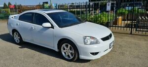 2007 Mitsubishi 380 DB Series III Sports White 5 Speed Auto Sports Mode Sedan North Geelong Geelong City Preview