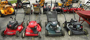 looking for your old lawn mower