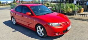 2004 Mazda 3 BK SP23 Red 4 Speed Auto Activematic Sedan North Geelong Geelong City Preview