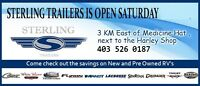 RV SALE SATURDAY Sterling Trailer