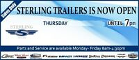 Sterling Trailers OPEN THURSDAY NIGHT