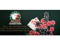 Aces Fun Casino Hire - Bringing all the fun of the Casino to you at affordable prices!