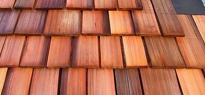 Red Cedar Shakes Shingles   No Taper   Old Growth  1 Heavy 24  X 3 4  Roofing