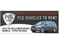 Pco Car Hire/ Uber Ready/ Ready to Rent £110 per week
