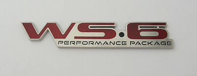 1996-2002 Pontiac Firebird Trans Am WS6 Rear End Bumper Badge Emblem 96-02 NEW!