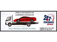 24/7 recovery, towing, breakdown, jumpstart, transport vehicle, cheap prices, long distance covered
