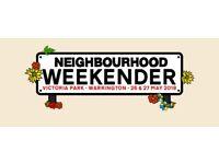 3x Neighbourhood Weekender Tickets