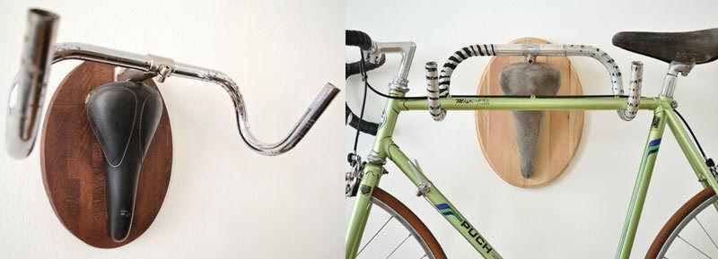 """Nicht nur stylisch, sondern auch praktisch: Der """"Torro"""" dient als Fahrradhalter. (Copyright: Andreas Scheiger)"""