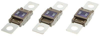 3 STÜCK Set 500A Schraub-Sicherung Leistungssicherung kompatibel zu Typ MEGA
