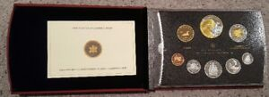 Canadian Coins Mint Proof Sets 1996 - 2005