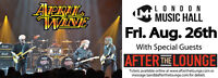 April Wine wsg After The Lounge London Music Hall Aug 26th