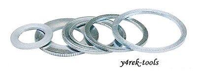 2 Circular Saw Blade Reduction Ring 3016mm - Spacer Washer Bushing 30 - 16mm