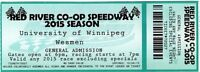 FREE TICKET FOR 1 ADMISSION TO RED RIVER CO-OP SPEEDWAY