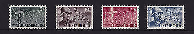 Luxembourg - 1947 Honouring Patton - U/M - SG 498-501