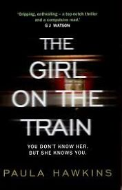 The Girl on the Train, paperback book and also DVD included